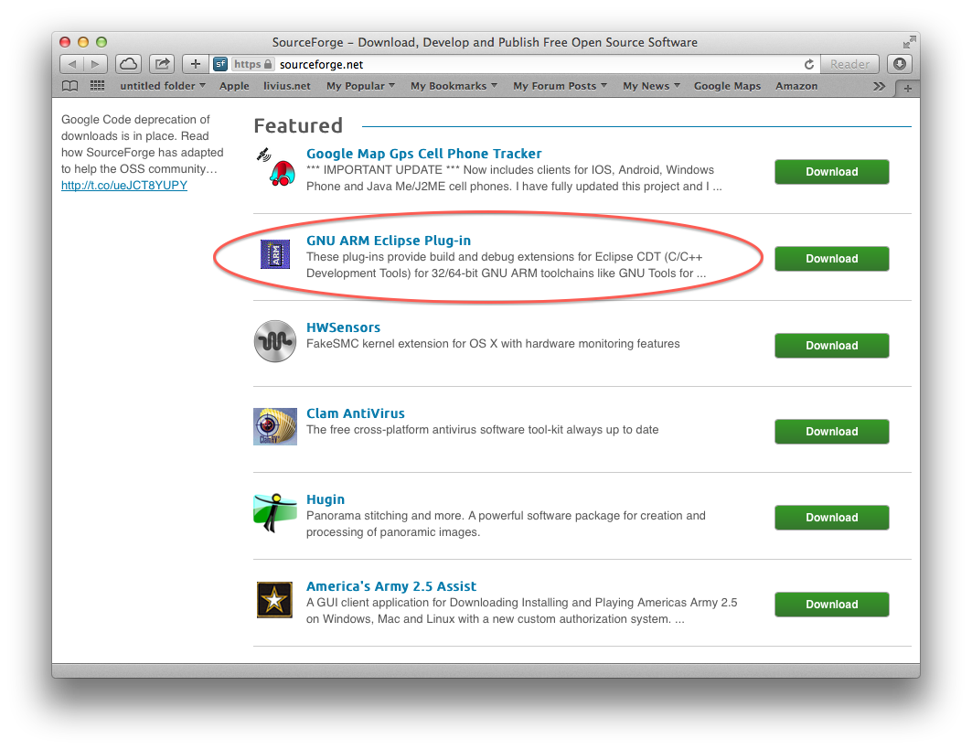 SourceForge Featured 2014 01