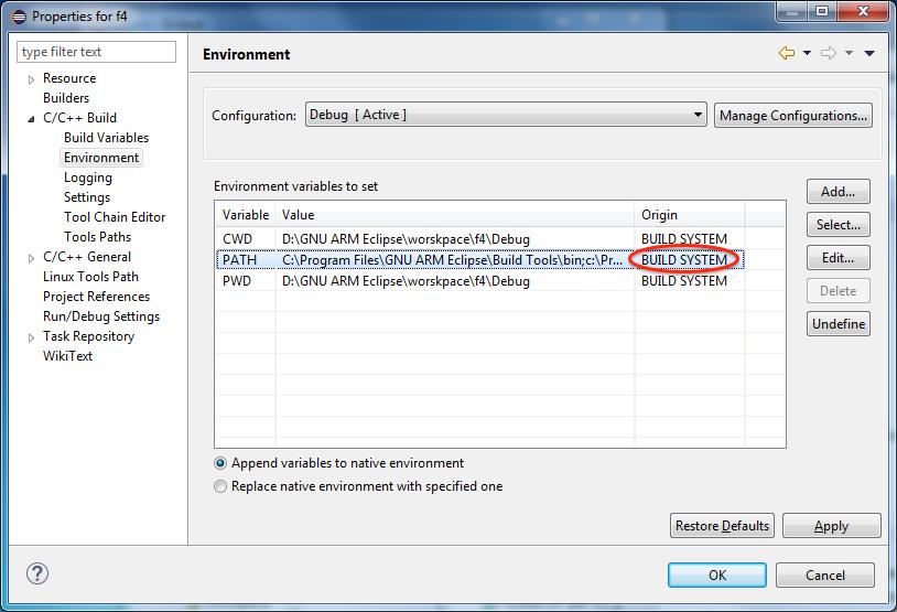How to install the GNU MCU Eclipse plug-ins?