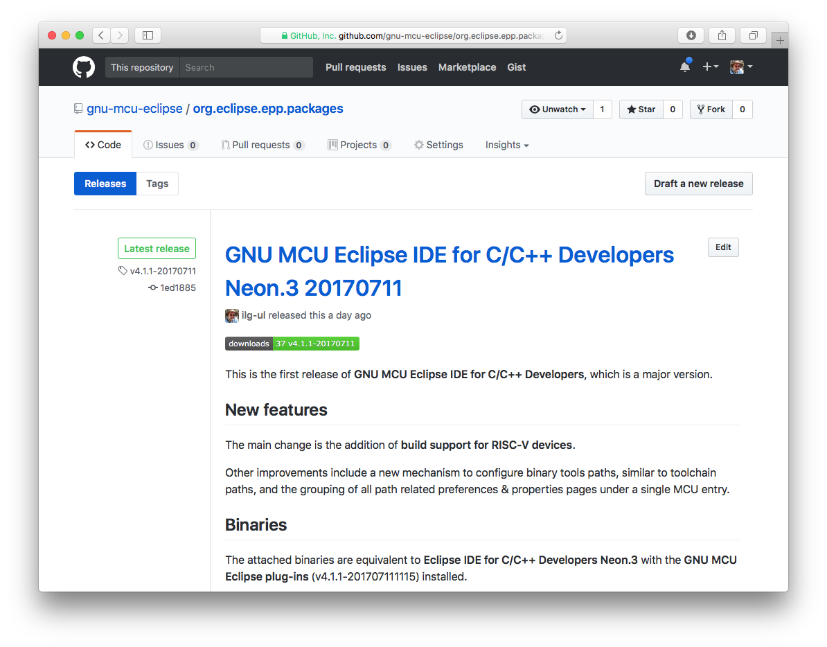 How to install the GNU MCU Eclipse plug-ins?