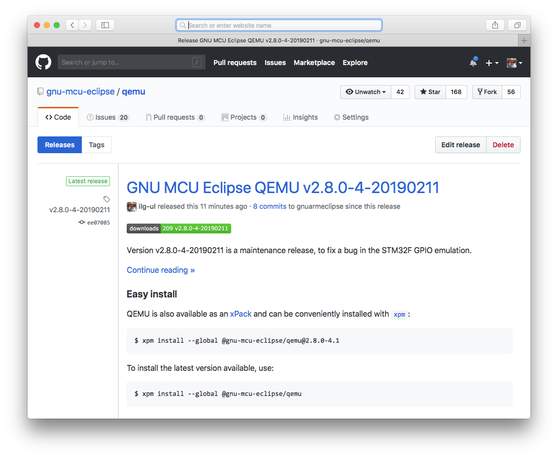 How to install the QEMU binaries?